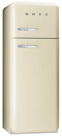 Smeg FAB30QP 50s Retro Style Fridge Freezer - Cream