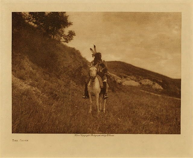 The Sioux,1907. Edward Sheriff Curtis Photography.