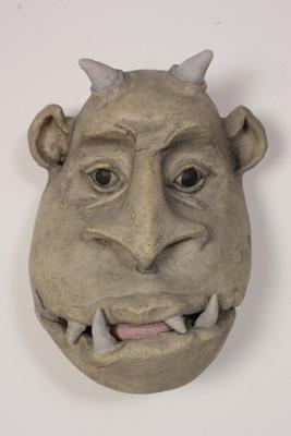 clay face gargoyle example