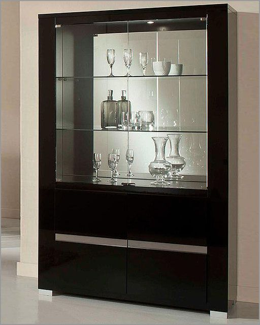 Wanting the built-in that extends from the closed kitchen area to the sliding window door, to have this pure glass encasement with wood finishes---but imagine the wood to be an interesting, light, unstained grain.