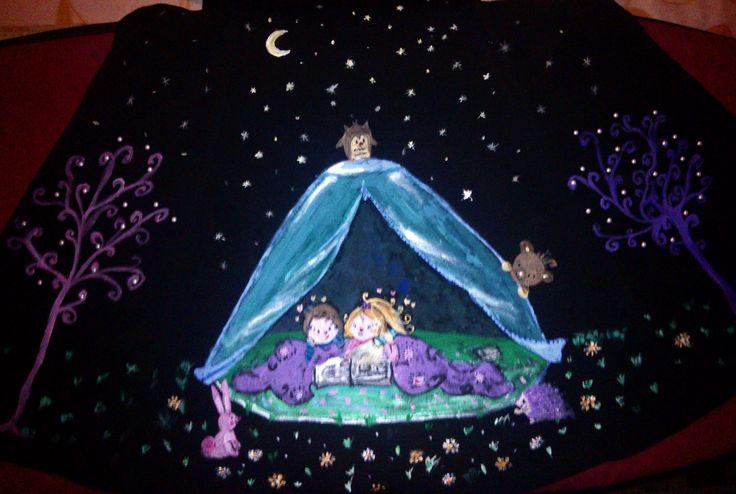 My precious dress- camping night
