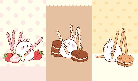 pocky molang pinterest plush bunnies and mobile