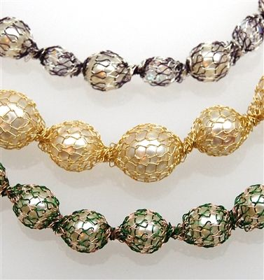 SilverSilkOnline.com  Galaxy and Pearls