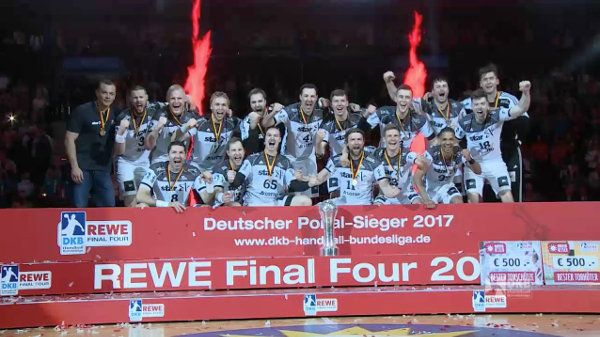 DHB Pokal Final Four Hamburg 2017: THW Kiel - das Sieger Video. DHB Pokal Final Four Hamburg 2017: Am Wochenende trafen in der Bar ...
