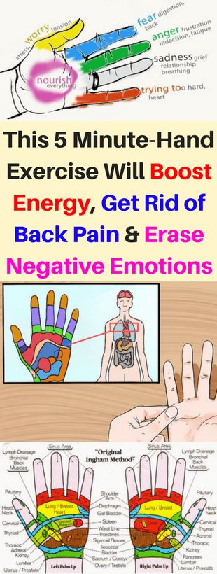 This 5 Minute-Hand Exercise Will Boost Energy, Get Rid of Back Pain, and Erase Negative Emotions - infacter