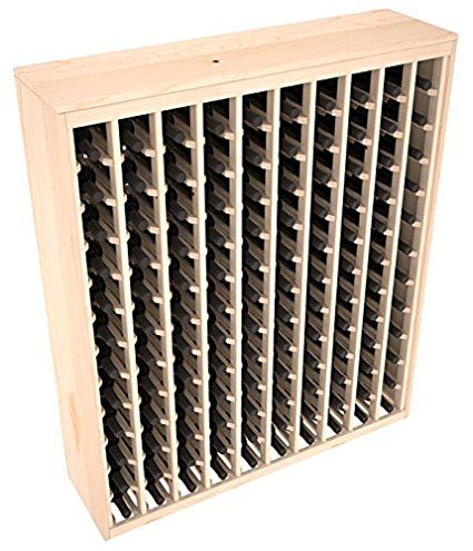 Wine Racks America Ponderosa Pine 120 Bottle Deluxe. 13 Stains to Choose From!