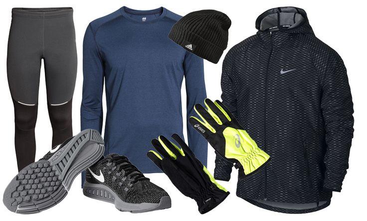 Klä dig snyggt och smart för vinterlöpningen