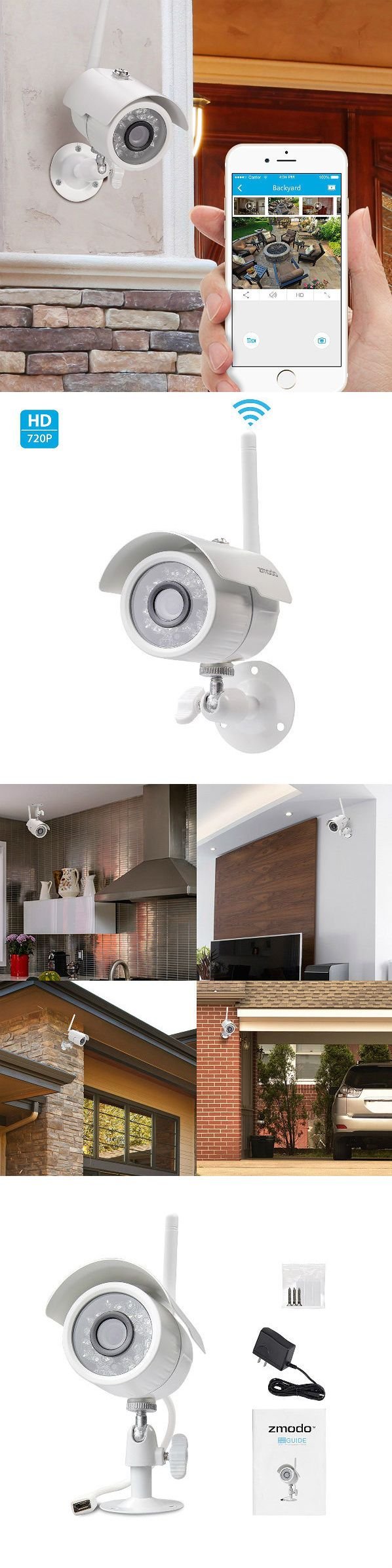 Security Cameras: Security Camera For Home Wireless Video Surveillance System Night Vision 720P -> BUY IT NOW ONLY: $48.99 on eBay!