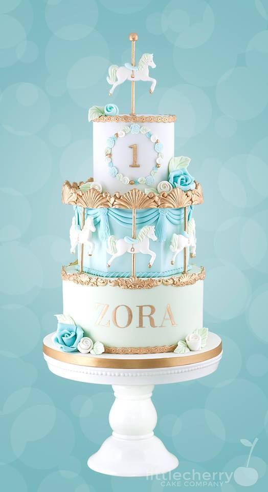 Cake Decorating Carousel : 17+ best ideas about Carousel Cake on Pinterest Carousel ...