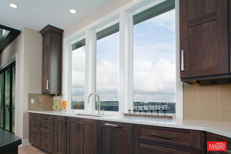 12 best images about take in the view seattle home on for Kitchen designs with big windows