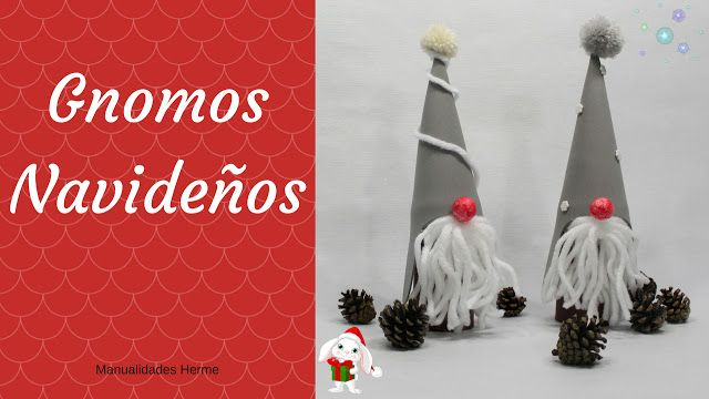 396 best manualidades herme images on pinterest for Gnomos navidenos