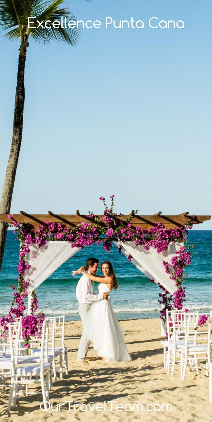 How about a beach wedding decorated with