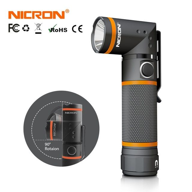 Glare Solar Rechargeable flashlight outdoor LED three modes home Hunting Camping