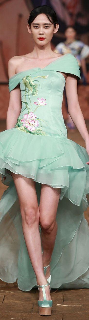 Zhang Zhifeng 2015 China Fashion Week S/S 2015