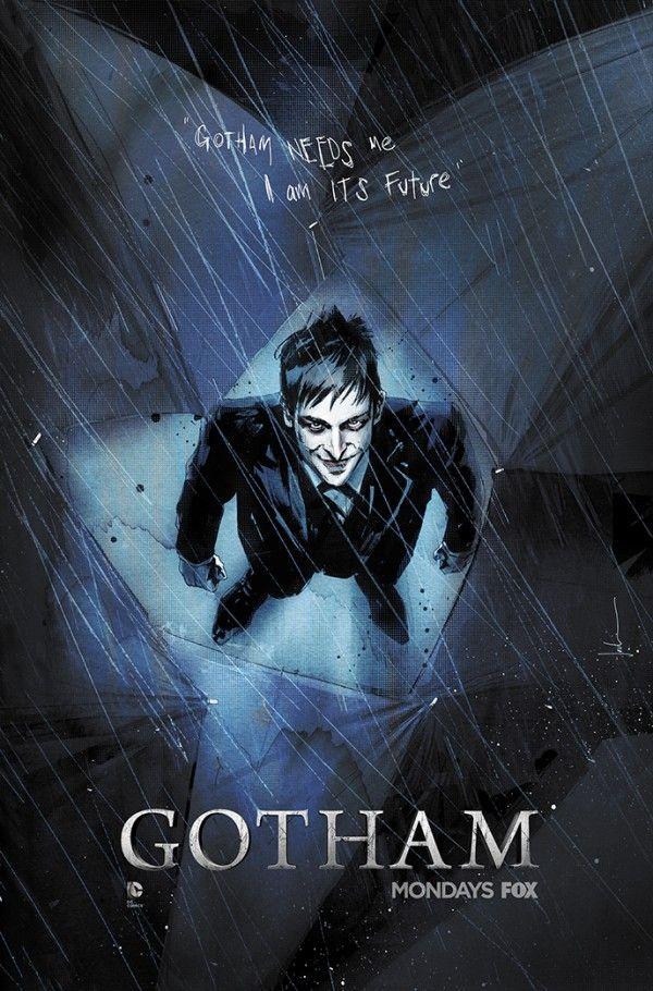 Gotham - Artista de quadrinhos faz ilustração incrível do Pinguim!