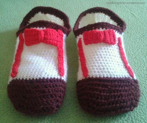 Doctor who crochet slippers
