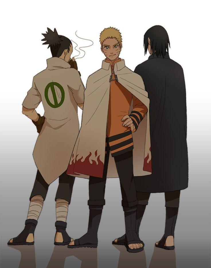 Tags: Fanart, NARUTO, Uzumaki Naruto, Uchiha Sasuke, Nara Shikamaru, Pixiv, Fanart From Pixiv, Pixiv Id 371266