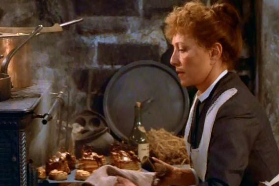 Cooking with Babette (still from Babette's Feast, 1987)