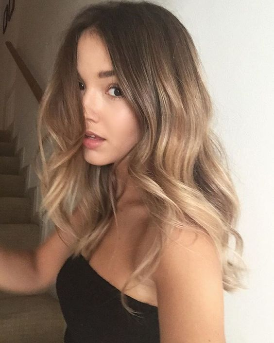 Bronde summer hair color 2017 #GreatLengths #SpringHairTrends #Bronde #HairTrends #Hair #HairInspiriation #Fashion #Style #Beauty