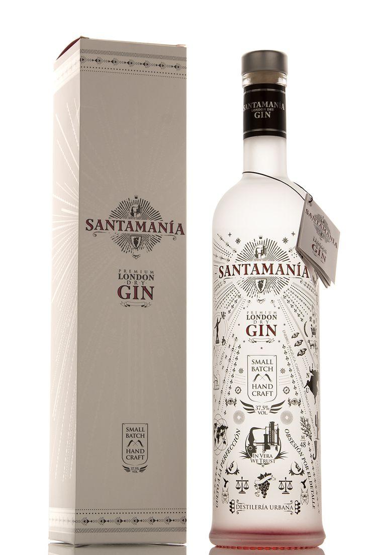 London Dry Gin SANTAMANÍA PD