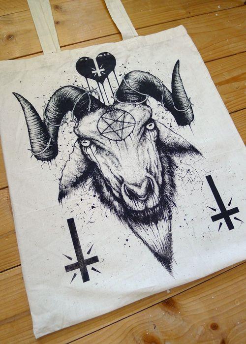 Satanic Goat Drawing