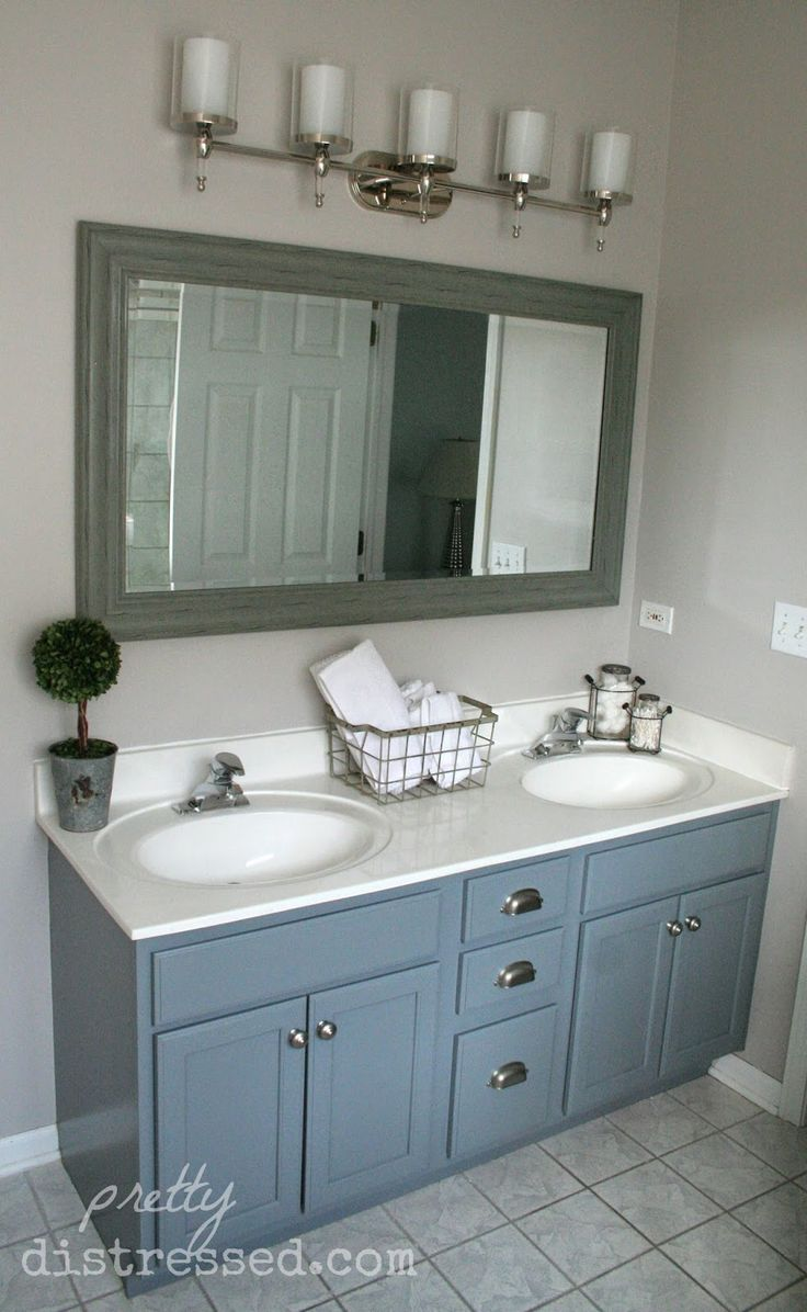 Best 25 gray bathroom vanities ideas on pinterest Bathroom cabinets gray