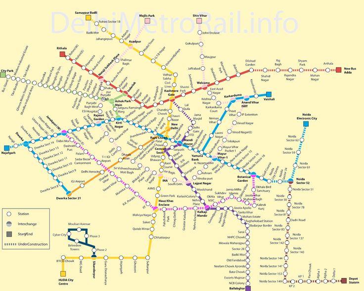 Indien.nu - Visa ämne | Delhi Metro | Skandinaviens största forum om Indien