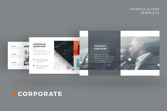 Corporate Pitch Deck Google Slides Powerpoint Templates Presentation Template Free Presentation Design Template
