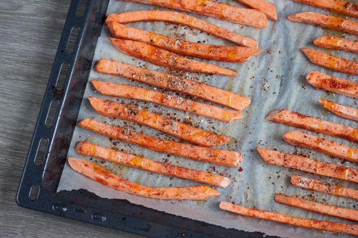 Perfect Crispy Sweet Potato Fries