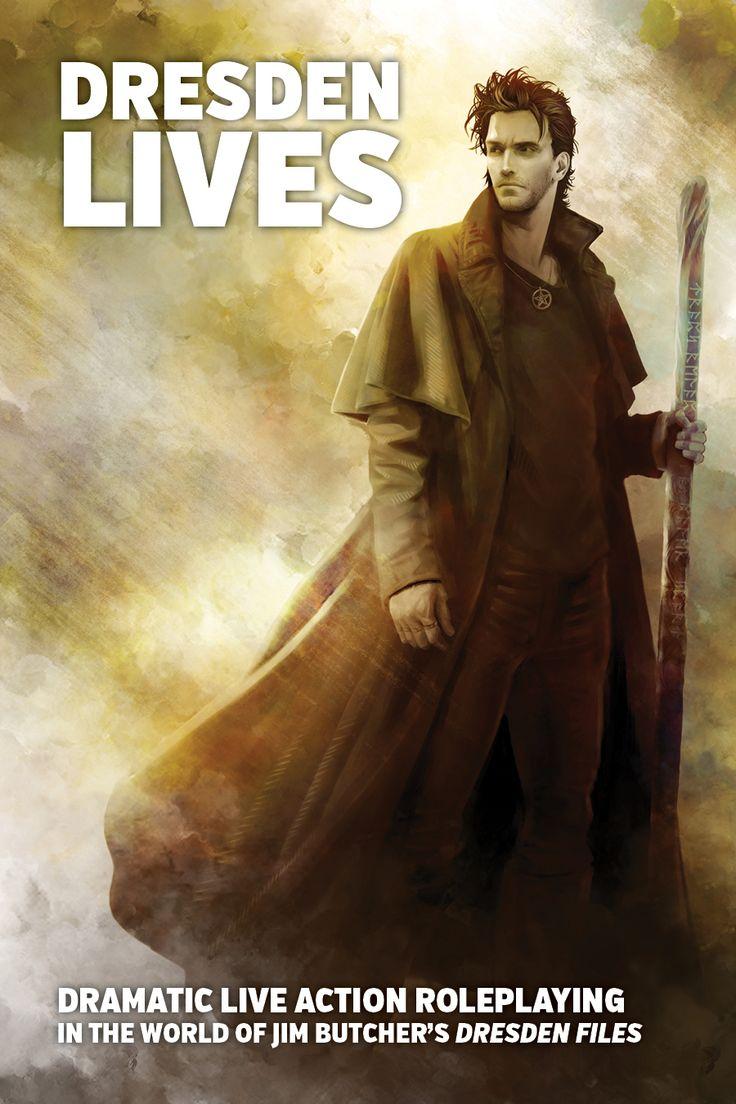 Dresden Lives Cover Art By Mika Kuloda