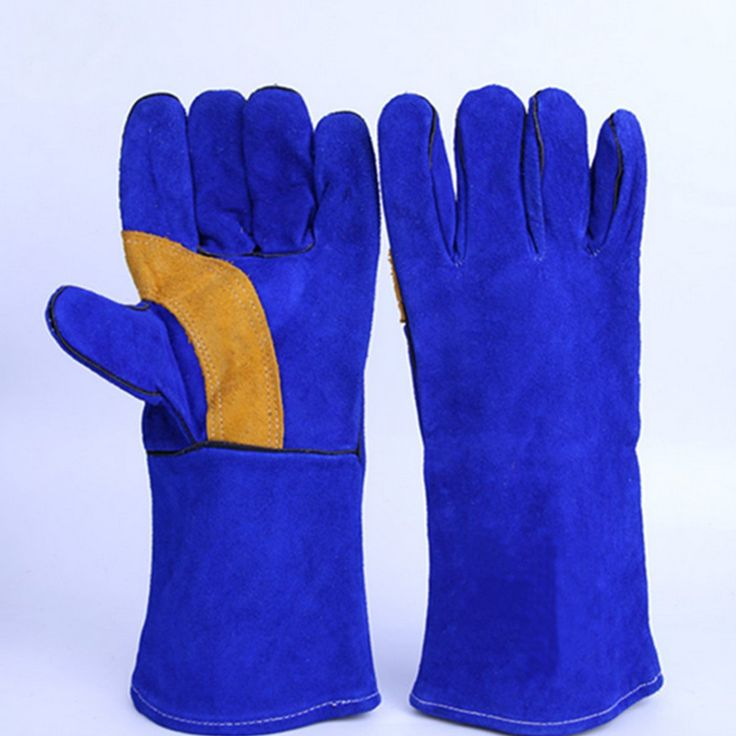 16inch Pair Long Heavy Duty Double Reinforced Palm Welding Gauntlets Welder Gloves  Features: Extremely comfy to wear. 16'' in length for forearm protection. Suitable for cutting welding handling etc. Fully lined and fully welted double kevlar stictched. Reinforced palm and thumb makes these a very robust and protective gauntlet. Anti wear anti cutting anti tear anti oil anti combustion puncture resistance thermal resistance etc. Designed for the professional welding industry mechanical…