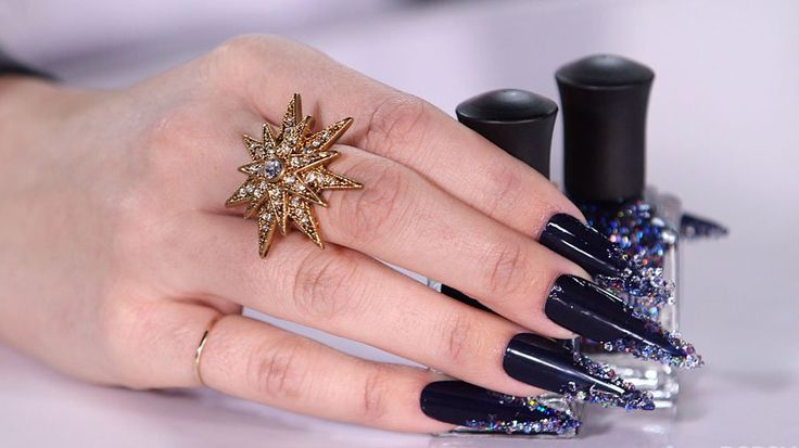 Those Nails, Though! A Swarovski Crystal Manicure You Can Replicate on the Cheap: Deborah Lippmann is just as passionate about music as she is about polish.