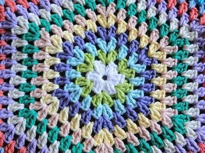 Rug Crochet Hexagons Patterns
