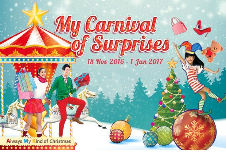 <p>AMK Hub gifts you a carnival of surprises. Rewards galore with gold bars, gifts and vouchers.</p>