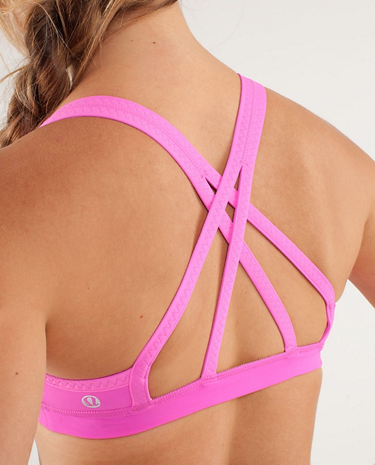 Cute sports bra for lazy days (since this would in no way support my boobs when running)