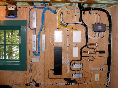 example home structured wiring