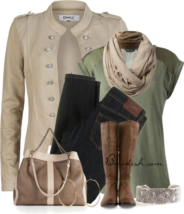 I basically own all of these things. Why did I not think to put them together this way? from:  Polyvore Combination 2014 - Be Modish