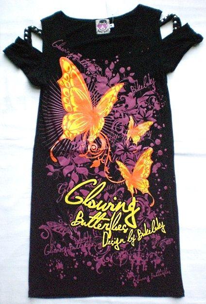 Top Farfalle borchiato