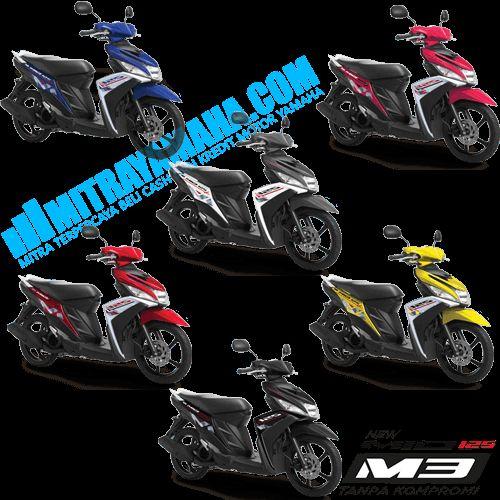 Harga Motor Yamaha Mio M3 125 Blue Core Terbaru. Pilihan Warna, Info Fitur dan Spesifikasi Terbaru