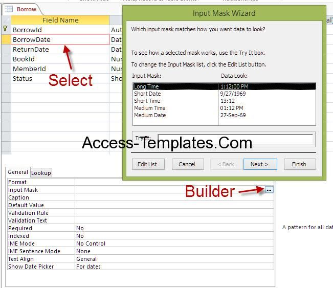Best Access Database Templates  Images On