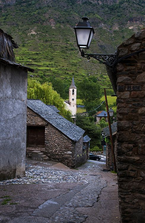 Mountain Village, Catalonia, Spain