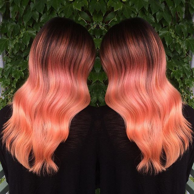 1000 Ideas About Coral Hair On Pinterest Coral Hair