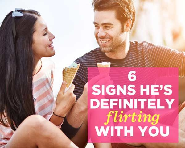 Dating attraction signs