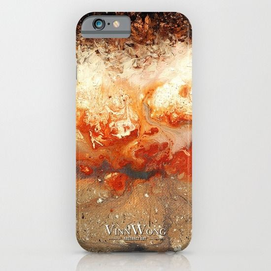 High quality volcanic red abstract phone case design for iPhone 6, iPhone 5S/C, iPod Touch, Galaxy s6/s5/s4 | International Shipping | Full collection www.vinnwong.com | Click to Shop or Pin it For Later!