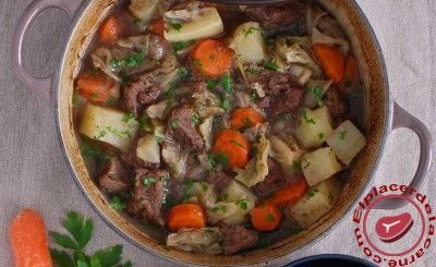Estofado irlandés de la familia de The Corrs - Recetas de Carnes y Aves - Elplacerdelacarne