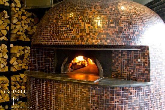 Forno a Legna Mosaico Bisazza Ristorante Pizzeria Gusto Bcn