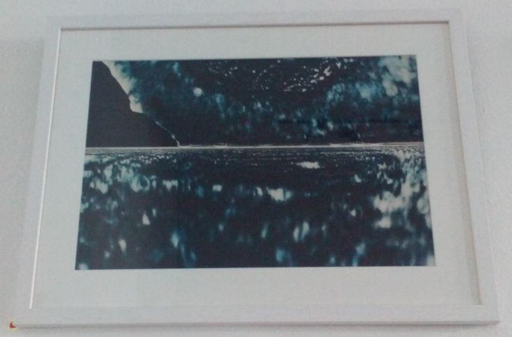 Shadowscape (blue tone 1), 2015, Photogram (1 of 1), lllford Classic Matt Fibre Based Paper, by Kate-Bowe O'Brien, €180