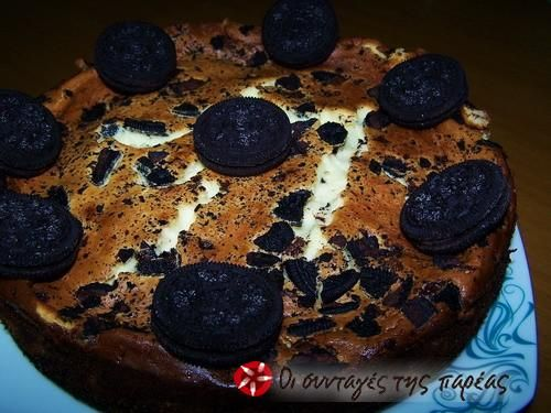 OREO Cheesecake με philadelphia #sintagespareas