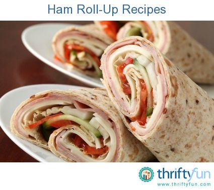 This page contains ham roll-up recipes. Ham roll-ups can be prepared as a warm or a cold appetizer or light meal.
