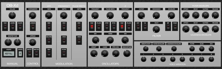discoDSP Releases Free OB-Xd VST Plugin For Windows & Mac OS